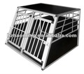 Small Alu double door dog crate cage sell in china