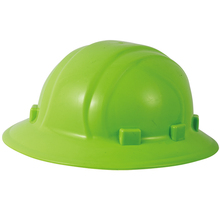 T096 High Quality Industrial Full Brim Hard Hat ANSI Safety Round Six Points Suspension Helmet