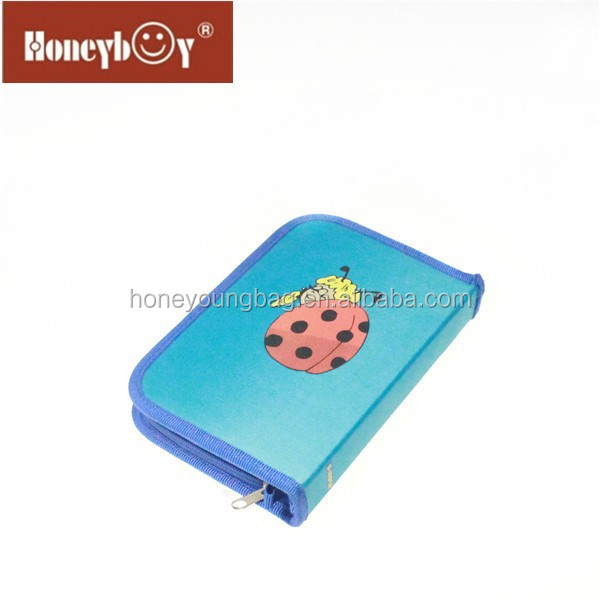 Korea style stationery with compartments various style for students and kids pencil case