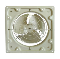 "FA10 Series Propeller Exhaust Fan with Shutter (8"",10"",12"",14"",16"",18"") in yellow"