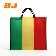 Cheap reusable laminated non woven bag ,custom printed shopping tote bag