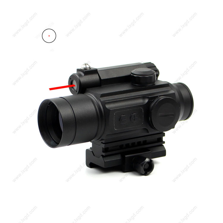 HD-25 military Picatinny 20mm mount weapon sight laser sight with red dot scope