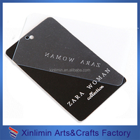 wholesale 1000 custom hang tag (Black cardboard)