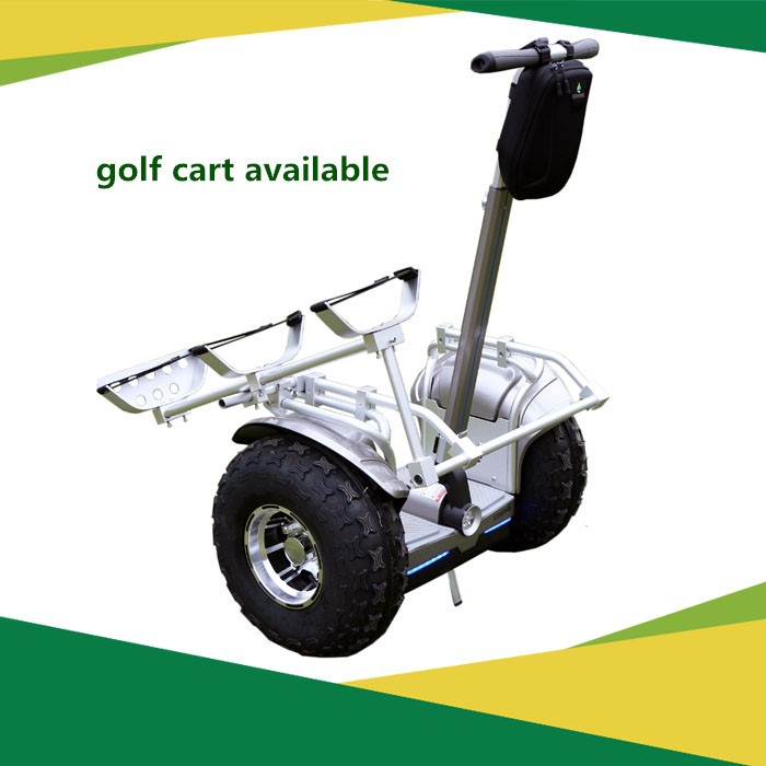 2 wheel electric standing electric golf cart scooter car