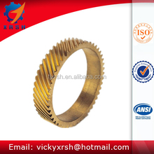 M1, M2, M3, M4, M5 Helical brass gear