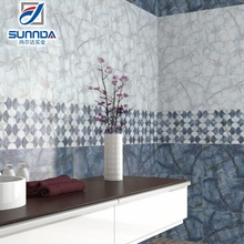 2016 300x450mm Hot Sale 3D Decorative glazed ceramic Wall Tiles Importers In Africa