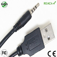 3.5mm male audio aux to usb 2.0 a male converter a