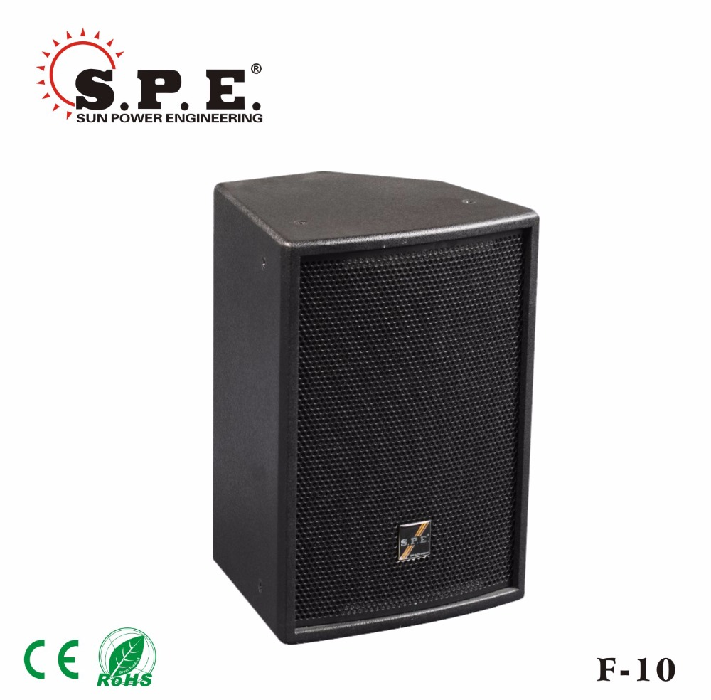 pro audio loudspeaker f 10 toa satellite speaker