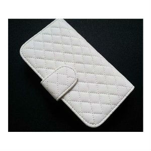 Deluxe Folio Quilted Wallet Leather Case for Samsung Galaxy S3 I9300
