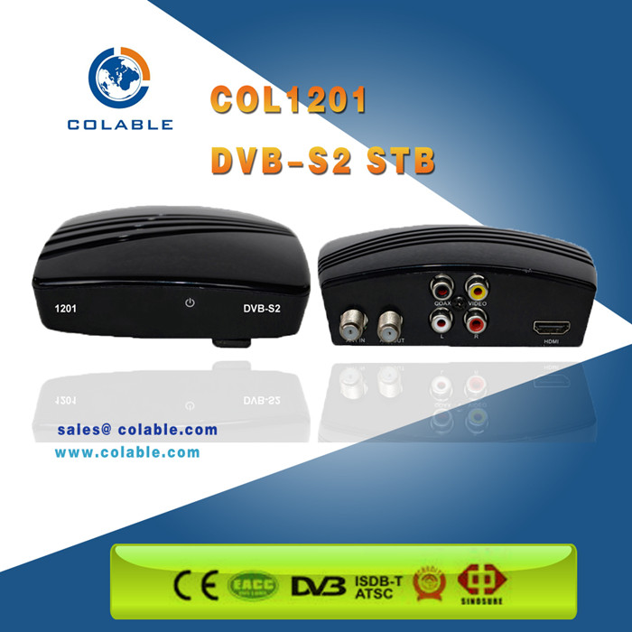 DVB-S2 digital satellite receiver FTA set top box support sotware upgrade over OTA
