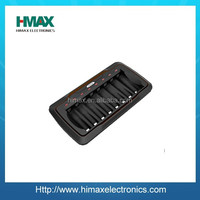 LCD Smart NiMH/NiCD Charger 8 slot AA/AAA 9.6v battery charger