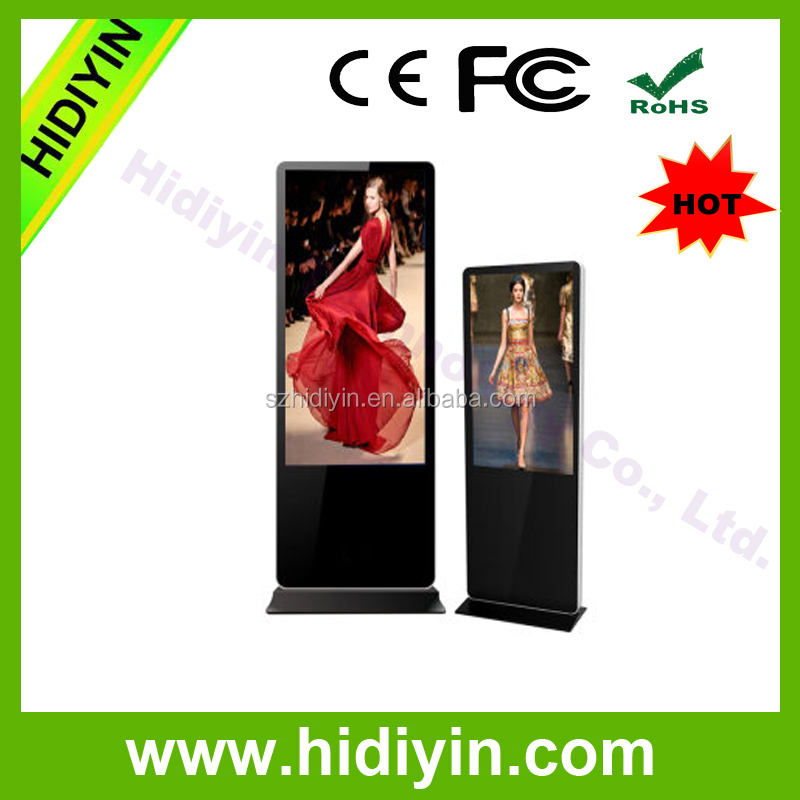 43inch Trade show LCD digital signage for post offices, hospital,school
