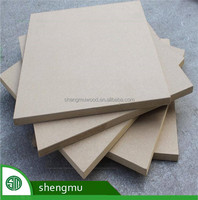 Cheap melamine mdf / melamine faced mdf board / 18mm malemine faced mdf