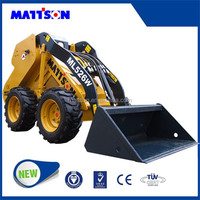 2015 New 1T SKID STEER Loader/Construction Machinery With Diesel Engine 1.0Ton Frontloader ML525 For Sale