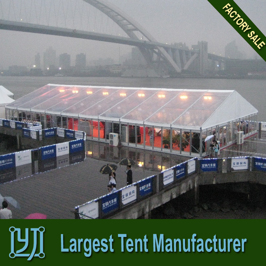 Outdoor 15m x 30m tiansparent Marquee Tent for Wedding Events