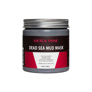 Customized wholesale bulk beauty body whitening natural organic dead sea mud mask