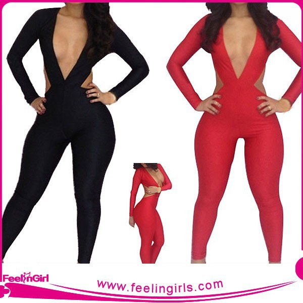 Wholesale One Piece Black and White Slimming Sex Body Suit