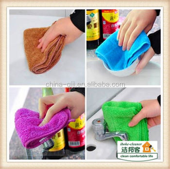 Kitchen dish cup sponge chenille microfiber rag cutters