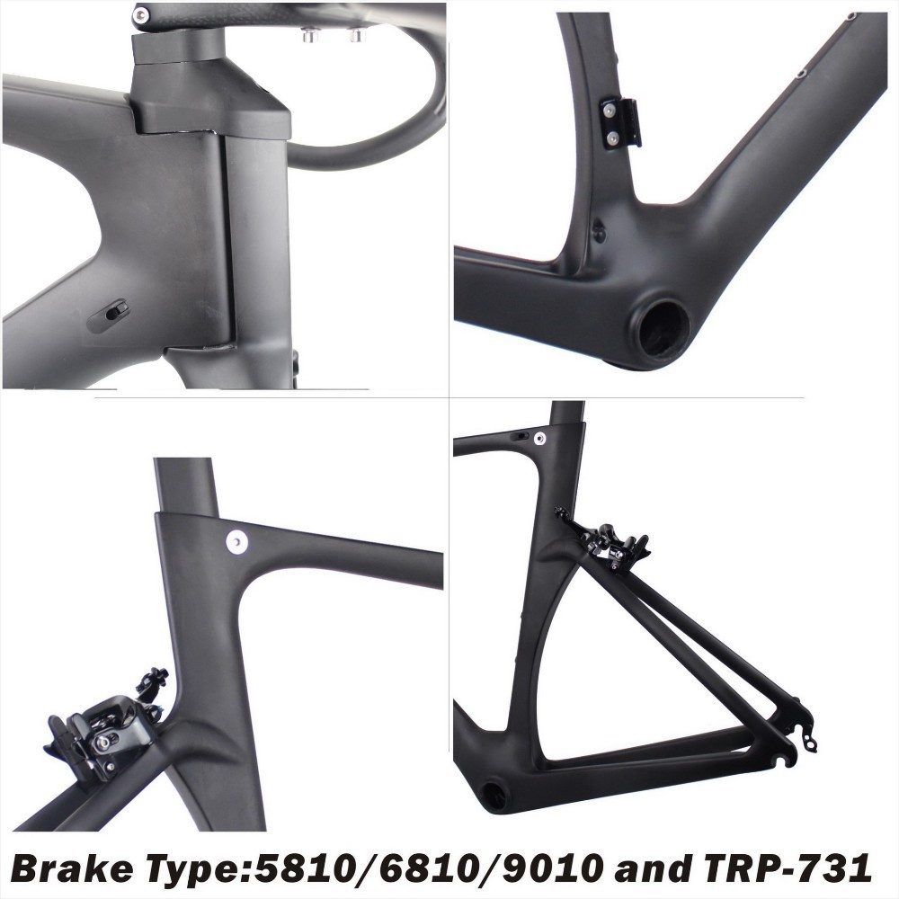 2017 Latest FM005 T700 carbon fiber frame complete road bike frame