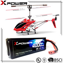 High rate lipo battery pack 4000mAh 40c for quadcopter rc car