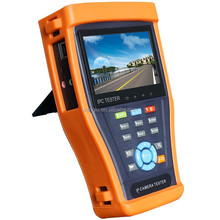 4.3 inch Touch Screen CCTV AHD IP Camera Tester, IP CCTV test monitor with PTZ/POE