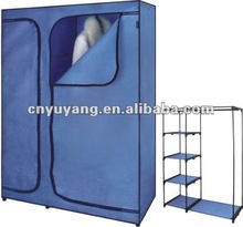 Non-woven fabric wardrobe sliding door system
