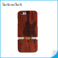 High-end OEM Detachable Wood Phone Case For iPhone 6 Wholesale