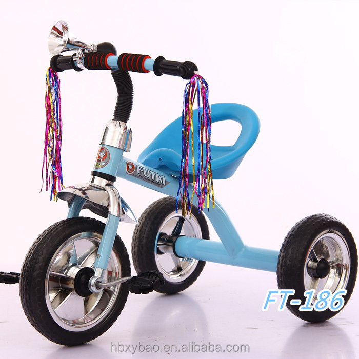 Pretty lovely and popular children manual ride on car toy baby tricycle for children