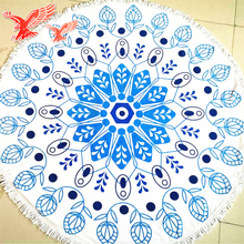 2017 New Products In China Market Round Mandala Beach Towel