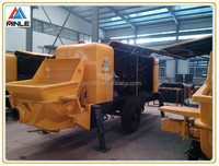 trailerable Diesel motor Concrete conveying Pump Made in China 30m3/h with best price