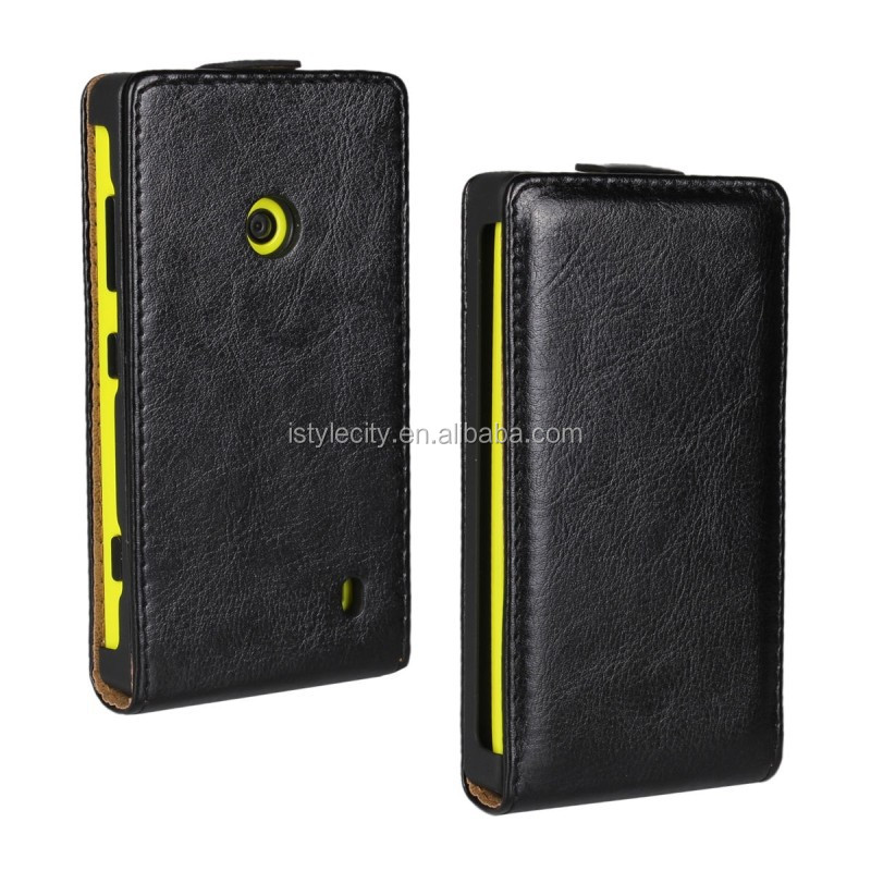 Flip Custom Case Leather Cover For Nokia Lumia 620