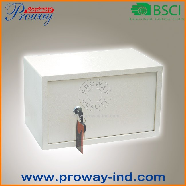 low price mechanical key lock steel security safe box