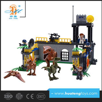 best selling shantou cheap building block new dinosaur toys for 2017