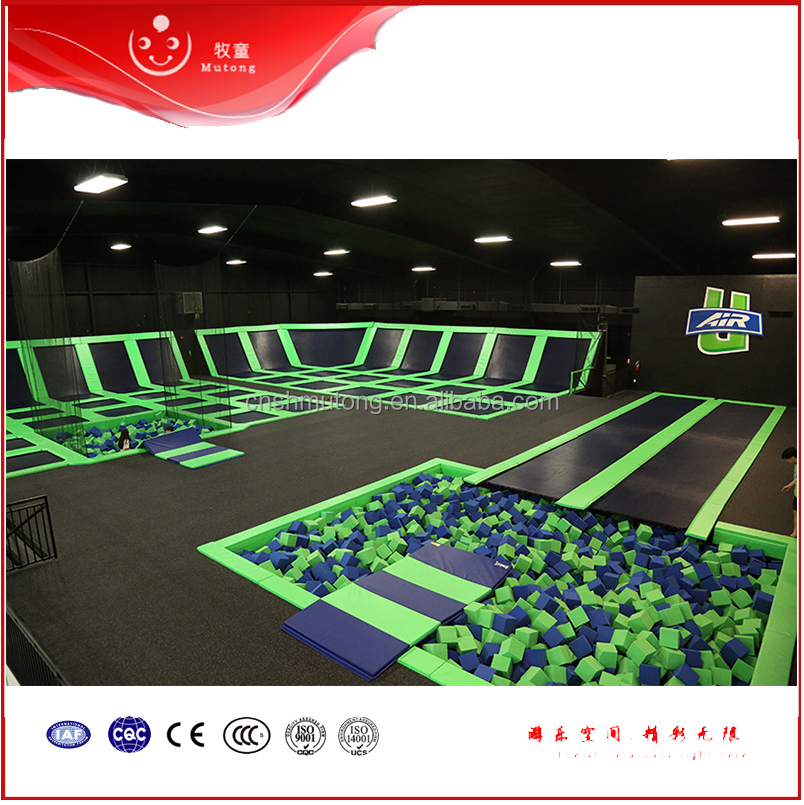 Hot Jumping Mat Indoor Trampoline Park Fashion Style Outdoor Body Trampoline Park For Sale