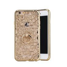 2017 Shining Sun Flower 3D Tpu phone case Back Cover luxury phone case for iphone7plus 6s
