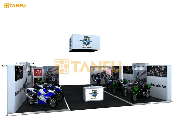 TANFU 10m x 10m Exhibition Display Design for Trade Show