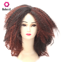 Wholesale Colorful Carnival Party Anime Cosplay Fluffy Wave Wigs For Adult