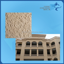 Outdoor Wall Decoration GRC Cement 3D Colorful Facade Cladding