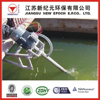 Micro porosity aerator eddy current machines for Oily water Separating