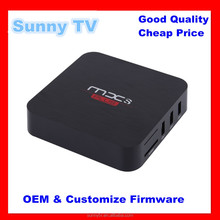 SUNNYTV MXS Plus Android TVBox QuadCore Amlogic S905 1G/8G ROM SmartTV KODI Full loaded Airplay APK+ ADD-ONS Pre-installed