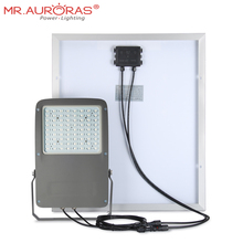 Microwave radar sensor solar power led light solar flood light