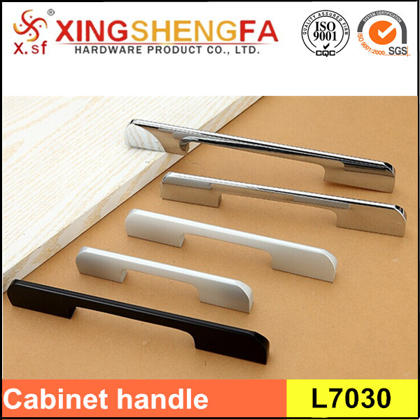 Aluminum alloy furniture cabinet handle pull hardware handle
