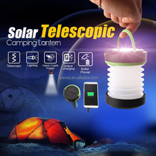 Portable outdoor lights led solar lantern pressure lantern