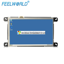 "7"" embedded industrial application touch screen computer with wind CE"