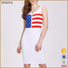 New Style Fashion Hot Sexy Night Dress For Women White Modern Short Club Dresses