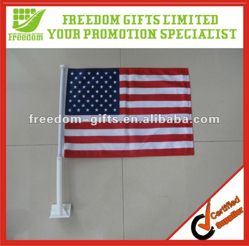 Cheap Polyester Car Window Flag