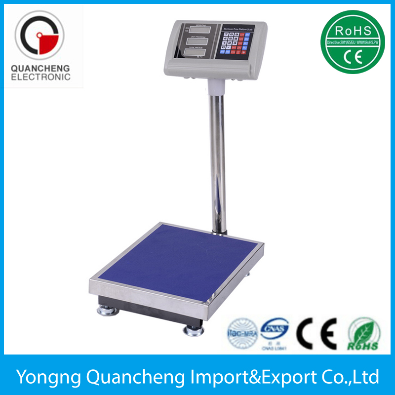 TCS Electronic Pricing Weighing Platform Scale 150 kg bench scales