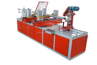 UNI-200 paper tube forming making machine with 4 heads