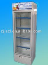 Display cooler, upright refrigerator, vertical refrigerated showcase