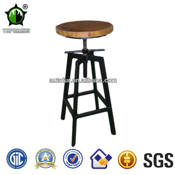 Cheap Luxury outdoor furniture high bar stools for sale